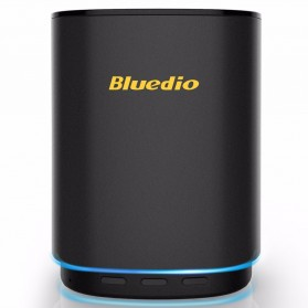 Bluedio TS5 Bluetooth Speaker v5.0 Smart Cloud Voice Control - Black