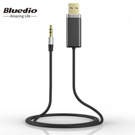 Bluedio Audio Bluetooth Receiver Cable 3.5mm - Black