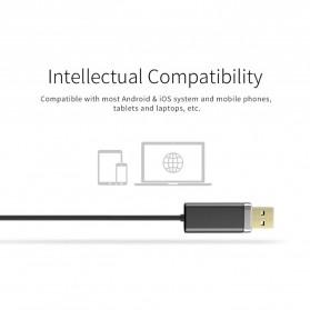 Bluedio Audio Bluetooth Receiver Cable 3.5mm - Black - 3