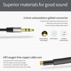 Bluedio Audio Bluetooth Receiver Cable 3.5mm - Black - 5