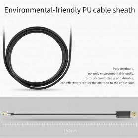 Bluedio Audio Bluetooth Receiver Cable 3.5mm - Black - 6