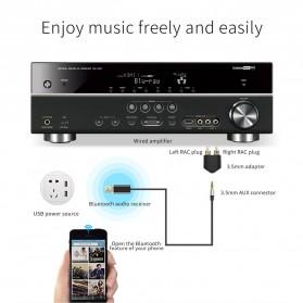 Bluedio Audio Bluetooth Receiver Cable 3.5mm - Black - 7