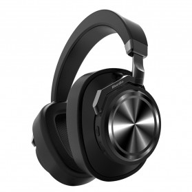 Bluedio T6 Wireless Bluetooth 5.0 Professional Mute Headphone with Mic - Black