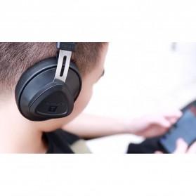 Bluedio TM Wireless Bluetooth 5.0 Voice Control Headphone with Mic - Black - 3