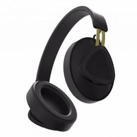 Bluedio TM Wireless Bluetooth 5.0 Voice Control Headphone with Mic - Black - 4