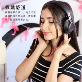 Bluedio TM Wireless Bluetooth 5.0 Voice Control Headphone with Mic - Black - 5