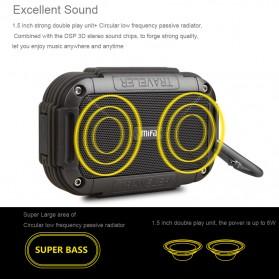 MIFA Waterproof Bluetooth Speaker with Carabiner - F7 - Blue - 2