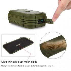 MIFA Waterproof Bluetooth Speaker with Carabiner - F7 - Blue - 4