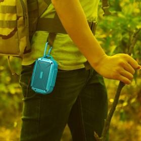 MIFA Waterproof Bluetooth Speaker with Carabiner - F7 - Blue - 5