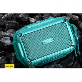 MIFA Waterproof Bluetooth Speaker with Carabiner - F7 - Blue - 7