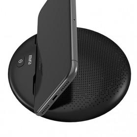 MiFa Bluetooth Speaker dengan Smartphone Stand - i6 - Black