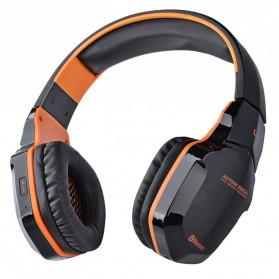 Kotion Each 2 in 1 Bluetooth Wireless Gaming Headset Deep Bass - B3505 - Black/Orange - 2