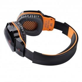 Kotion Each 2 in 1 Bluetooth Wireless Gaming Headset Deep Bass - B3505 - Black/Orange - 5