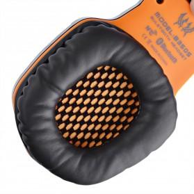 Kotion Each 2 in 1 Bluetooth Wireless Gaming Headset Deep Bass - B3505 - Black/Orange - 6