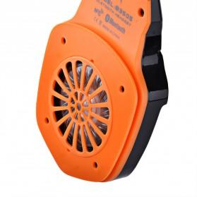 Kotion Each 2 in 1 Bluetooth Wireless Gaming Headset Deep Bass - B3505 - Black/Orange - 7
