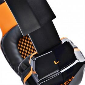 Kotion Each 2 in 1 Bluetooth Wireless Gaming Headset Deep Bass - B3505 - Black/Orange - 8
