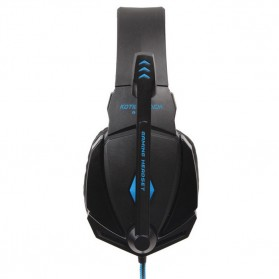 Kotion Each G4000 Gaming Headset Surround Headband with LED Light (bakcup) - Black/Blue - 5