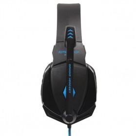 Kotion Each G4000 Gaming Headset Surround Headband with LED Light - Black/Blue - 5