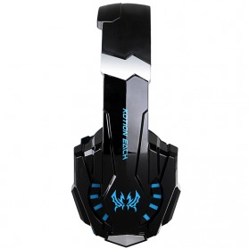 Kotion Each G9000 Gaming Headset Twisted with LED Light - Black/Blue - 7