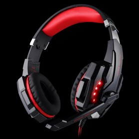 Kotion Each G9000 Gaming Headset Twisted with LED Light - Red