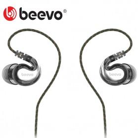Beevo Earphone Extra Bass dengan Mic - BV-EM390 (backup) - Black