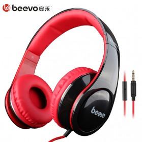 Beevo HiFi Super Bass Headphone dengan Mic - BV-HM740 (backup) - Black