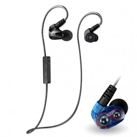 Moxpad X90 Sport Wireless Bluetooth 4.1 Earphone with Microphone(backup) - Black