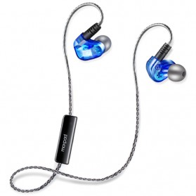 Moxpad X90 Sport Wireless Bluetooth 4.1 Earphone with Microphone(backup) - Blue