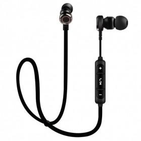 PTM Sport Wireless Bluetooth Earphone dengan Mic - B5 - Black