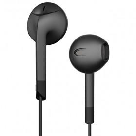 PTM P6 Earphone Earbud dengan Mic - Black