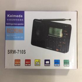 Kaimeda Portable FM Radio Player TF Card -  SRW-710S - Black - 4