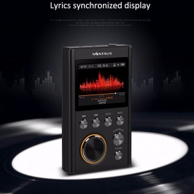 NiNTAUS X10 HiFi DAP MP3 Player DSD64 16GB - Black - 4