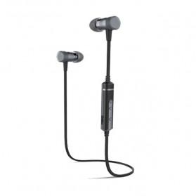 PICUN Earphone Bluetooth Sport Bass dengan Microphone - H6 - Black - 2