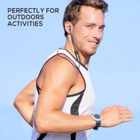 PICUN Earphone Bluetooth Sport Bass dengan Microphone - H6 - Black - 3