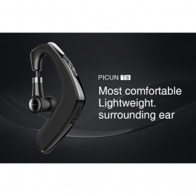 PICUN Mini Wireless Handfree Headset Bluetooth V4.1 - T8 - Black - 2