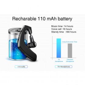 PICUN Mini Wireless Handfree Headset Bluetooth V4.1 - T8 - Black - 6