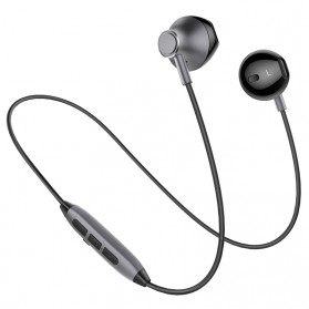 PICUN Earphone Bluetooth Earpods dengan Microphone - H2 - Black