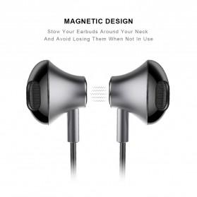 PICUN Earphone Bluetooth Earpods dengan Microphone - H2 - Black - 2