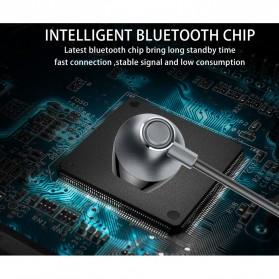 PICUN Earphone Bluetooth Earpods dengan Microphone - H2 - Black - 10