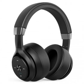 PICUN Wireless Bluetooth Headphone Noise Canceling with Mic - P28S - Black
