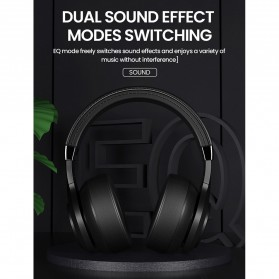 PICUN Wireless Bluetooth Headphone Noise Canceling with Mic - P28S - Black - 4