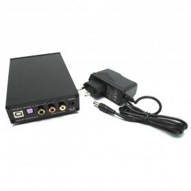 FX-Audio DAC-X6 Mini HiFi Digital Audio Decoder 24Bit/96KHz - Black/Silver - 2