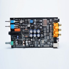 FX-Audio DAC-X6 Mini HiFi Digital Audio Decoder 24Bit/96KHz - Black/Silver - 3