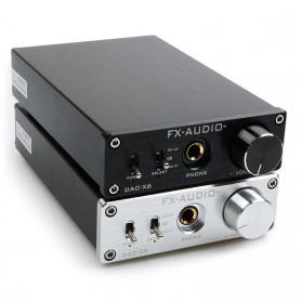 FX-Audio DAC-X6 Mini HiFi Digital Audio Decoder 24Bit/96KHz - Black/Silver - 4