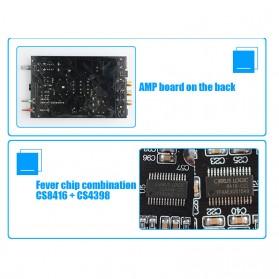 FX-Audio DAC-X6 Mini HiFi Digital Audio Decoder 24Bit/96KHz - Black/Silver - 7