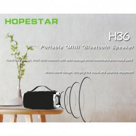 HOPESTAR Wireless Bluetooth Speaker Waterproof - H36 - Black - 2