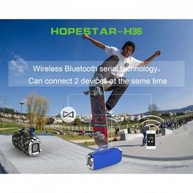 HOPESTAR Wireless Bluetooth Speaker Waterproof - H36 - Black - 5