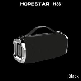 HOPESTAR Wireless Bluetooth Speaker Waterproof - H36 - Black - 6