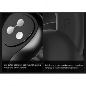 SYLLABLE Airpods Earphone Bluetooth dengan Charging Case - D9X - Black - 9