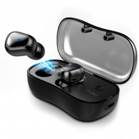 SYLLABLE Airpods Earphone Bluetooth dengan Charging Case - D900P - Black - 2